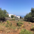 Plot with sea view in Kefalas